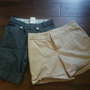 Bundle! 2 pairs size 8 shorts
